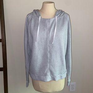 GAP Body | Raglan Terrycloth Hooded Pullover